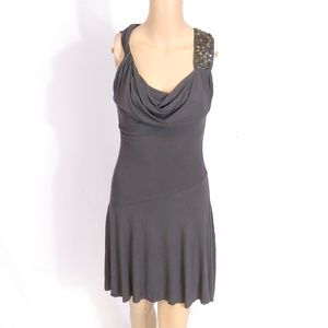 NWT Bailey 44 Rock Collector Cowl Neck Dress XS
